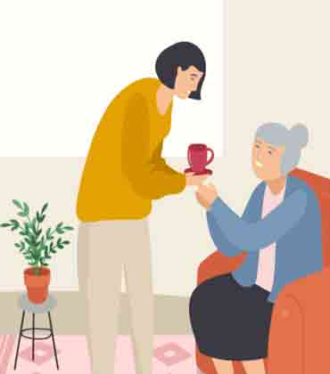 Caring for an Elderly Parent Diagnosed with Covid-19
